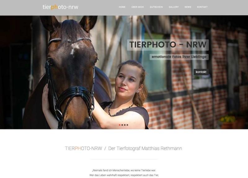 neue webseite von Tierphoto-NRW.de