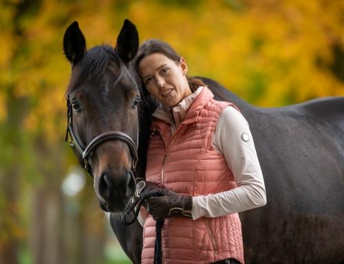 Herbstfotos mit Pferd